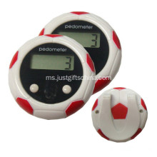 Custom Printed Football Pedometer Dengan Logo